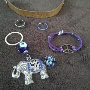 Peace Hippie Jewelry Bundle